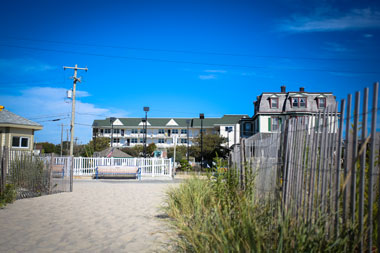 Cape May hotel near the beach